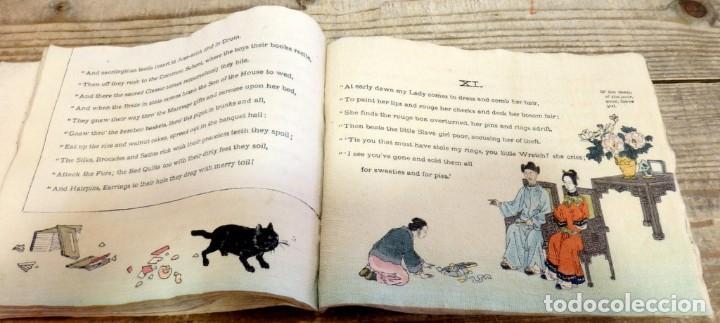Libros antiguos: THE RATS PLAINT, (LA QUEJA DE LA RATA), 1894,T. HASEGAWA, EN PAPEL CREPE O SEDA, RARISIMO, UNA JOY - Foto 5 - 170060748
