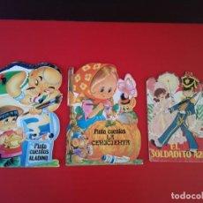Libros antiguos: LOTE 3 CUENTOS TROQUELADOS PINTACUENTOS Y CUENTOS TORAY. Lote 170454132