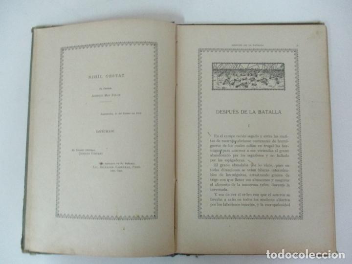 Libros antiguos: Después de la Batalla, Una Ilusa - Manuel Marinel-lo - Dibujos Ricardo Opisso - Biblioteca Natural - Foto 5 - 170852145
