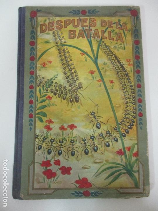 DESPUÉS DE LA BATALLA, UNA ILUSA - MANUEL MARINEL-LO - DIBUJOS RICARDO OPISSO - BIBLIOTECA NATURAL (Libros Antiguos, Raros y Curiosos - Literatura Infantil y Juvenil - Cuentos)