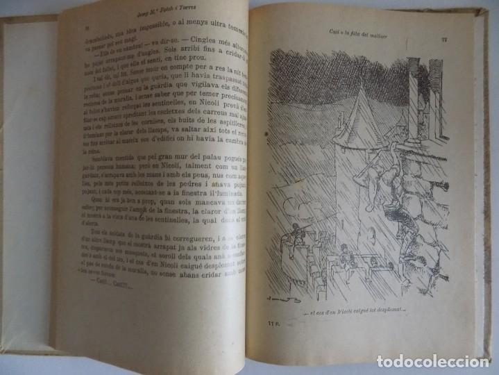 Libros antiguos: LIBRERIA GHOTICA. FOLCH I TORRES. CATI O LA FILLA DEL MOLINER.LA PRINCESA I EL PASTOR.1925 - Foto 2 - 170981205