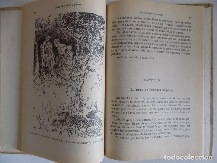 Libros antiguos: LIBRERIA GHOTICA. FOLCH I TORRES. CATI O LA FILLA DEL MOLINER.LA PRINCESA I EL PASTOR.1925 - Foto 3 - 170981205