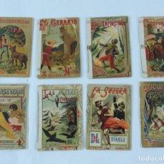 Libros antiguos: 8 CUENTOS DE CALLEJA, CUENTOS BONITOS, TOMO 33, 23, 24, 25, 26, 29, 32 Y EL 34 TIENEN REFORZADO EL L. Lote 171024380