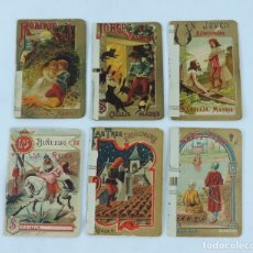 Livros antigos: 6 CUENTOS DE CALLEJA, CUENTOS BONITOS, TOMO 61, 90, 178, 177, 64 Y EL 63, TIENEN REFORZADO EL LOMO C. Lote 97670907