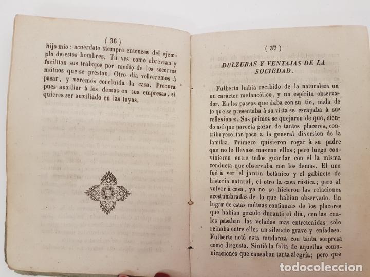 Libros antiguos: EL AMIGO DE LA INFANCIA, CUENTOS BERQUIN, EDICIÓN BARCELONA 1843 - Foto 4 - 171099083