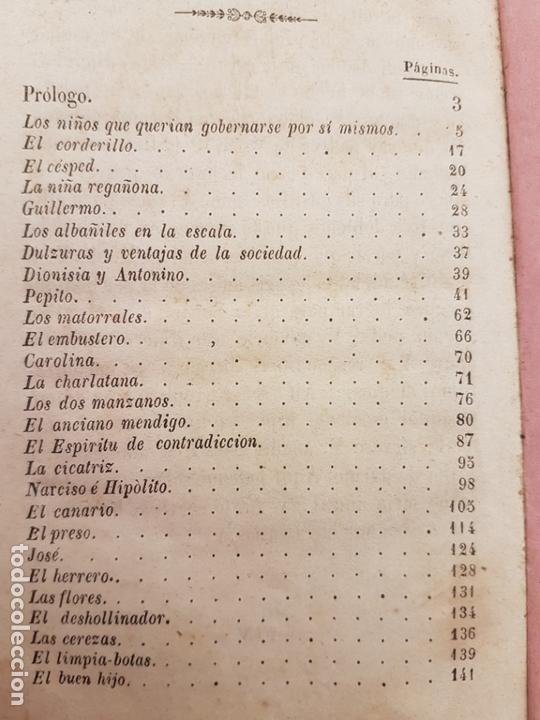 Libros antiguos: EL AMIGO DE LA INFANCIA, CUENTOS BERQUIN, EDICIÓN BARCELONA 1843 - Foto 11 - 171099083
