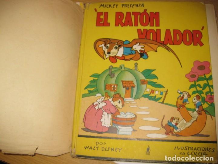 Libros antiguos: cuento el raton volador. ed molino 1936 1 era edicion - Foto 2 - 171169643