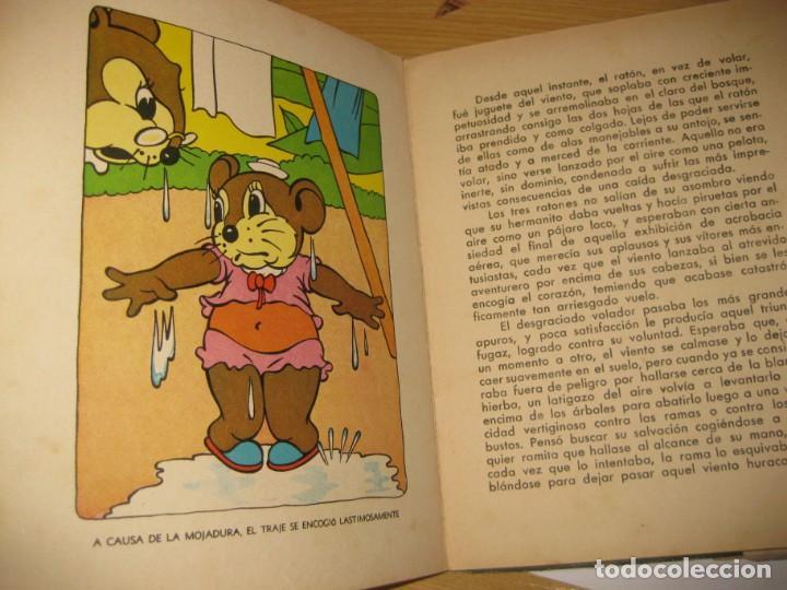 Libros antiguos: cuento el raton volador. ed molino 1936 1 era edicion - Foto 5 - 171169643