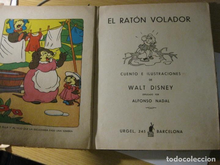 Libros antiguos: cuento el raton volador. ed molino 1936 1 era edicion - Foto 6 - 171169643