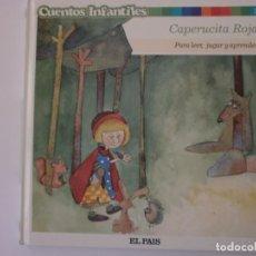 Libros antiguos: CUENTOS INFANTILES CAPERUCITA ROJA NUEVO. Lote 171348047
