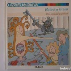 Libros antiguos: CUENTOS INFANTILES HANSEL Y GRETEL NUEVO. Lote 171354255