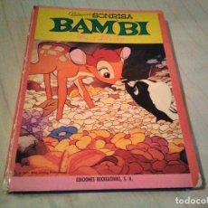 Libros antiguos: BAMBI DE WALT DISNEY. Lote 171494734