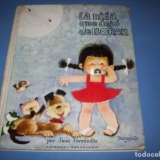 Libros antiguos: LA NIÑA QUE DEJO DE LLORAR, FERRANDIZ 1969 SEGUNDA EDICION. Lote 171508324