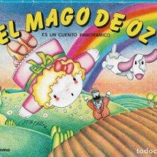 Libros antiguos: CUENTO POP-UP - EL MAGO DE OZ - COLECCIÓN CUENTOS SUPERPANORÁMICOS Nº 3 - EDITORIAL ROMA, 1984.. Lote 171726539