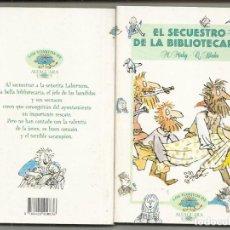 Libros antiguos: LIBRO EL SECUESTRO DE LA BIBLIOTECARIA - M. MAHY, Q. BLAKE (LOS TOMITOS DE ALFAGUARA, 1994) COLECCI. Lote 172717243