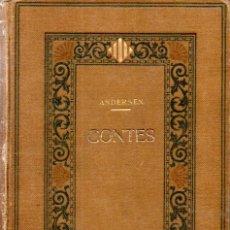 Libros antiguos: ANDERSEN : CONTES (BIBL. LITERÀRIA, 1918) CATALÀ. Lote 172766905