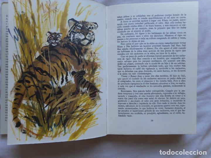 Libros antiguos: El gran libro de las fieras - Ilust. Janusk Grabianski - Ed. Noguer - 1965 - Foto 6 - 172770564