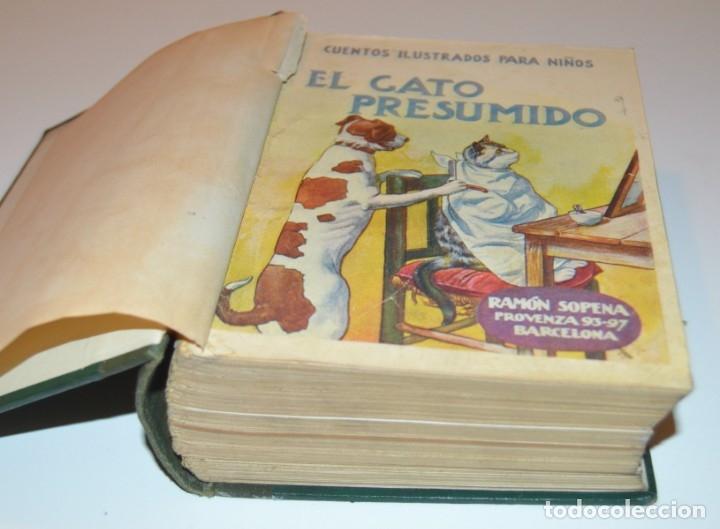 RAMON SOPENA - 29 CUENTOS ILUSTRADOS PARA NIÑOS - ENCUADERNADOS EN UN TOMO - IMPECABLES (Libros Antiguos, Raros y Curiosos - Literatura Infantil y Juvenil - Cuentos)