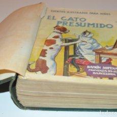Libros antiguos: RAMON SOPENA - 29 CUENTOS ILUSTRADOS PARA NIÑOS - ENCUADERNADOS EN UN TOMO - IMPECABLES. Lote 172799969