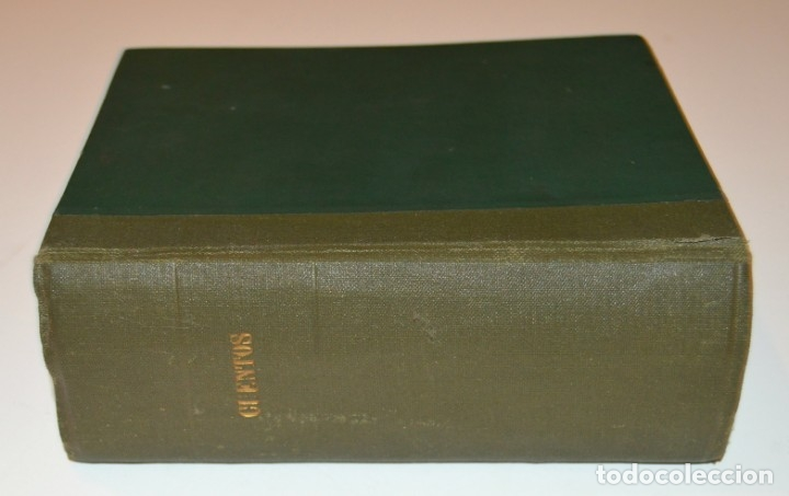 Libros antiguos: RAMON SOPENA - 29 CUENTOS ILUSTRADOS PARA NIÑOS - ENCUADERNADOS EN UN TOMO - IMPECABLES - Foto 2 - 172799969