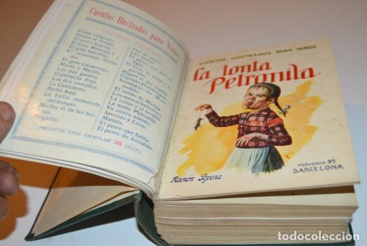 Libros antiguos: RAMON SOPENA - 29 CUENTOS ILUSTRADOS PARA NIÑOS - ENCUADERNADOS EN UN TOMO - IMPECABLES - Foto 5 - 172799969