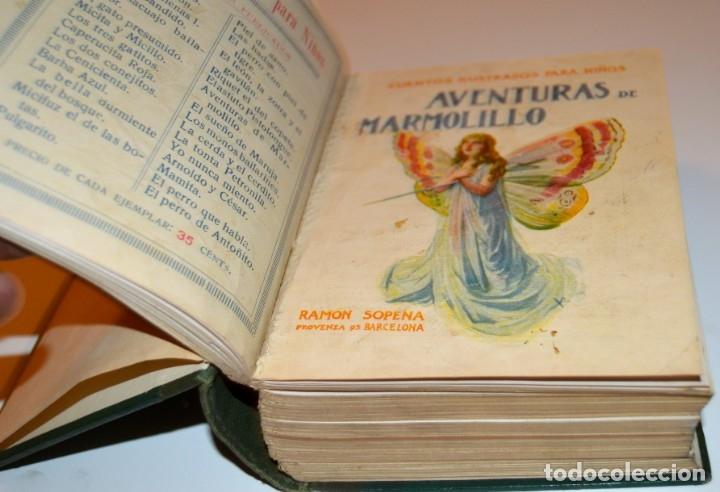 Libros antiguos: RAMON SOPENA - 29 CUENTOS ILUSTRADOS PARA NIÑOS - ENCUADERNADOS EN UN TOMO - IMPECABLES - Foto 6 - 172799969