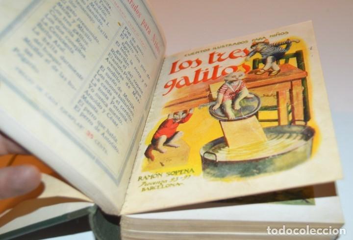 Libros antiguos: RAMON SOPENA - 29 CUENTOS ILUSTRADOS PARA NIÑOS - ENCUADERNADOS EN UN TOMO - IMPECABLES - Foto 7 - 172799969