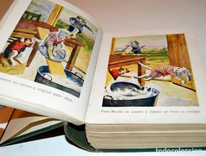 Libros antiguos: RAMON SOPENA - 29 CUENTOS ILUSTRADOS PARA NIÑOS - ENCUADERNADOS EN UN TOMO - IMPECABLES - Foto 8 - 172799969