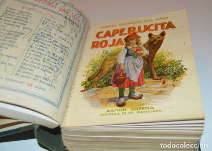 Libros antiguos: RAMON SOPENA - 29 CUENTOS ILUSTRADOS PARA NIÑOS - ENCUADERNADOS EN UN TOMO - IMPECABLES - Foto 9 - 172799969