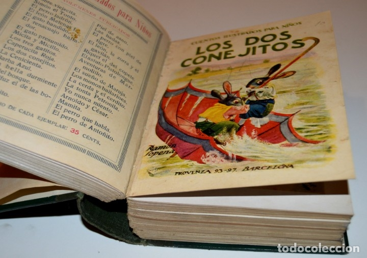 Libros antiguos: RAMON SOPENA - 29 CUENTOS ILUSTRADOS PARA NIÑOS - ENCUADERNADOS EN UN TOMO - IMPECABLES - Foto 11 - 172799969