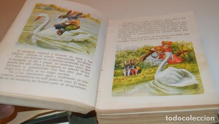 Libros antiguos: RAMON SOPENA - 29 CUENTOS ILUSTRADOS PARA NIÑOS - ENCUADERNADOS EN UN TOMO - IMPECABLES - Foto 12 - 172799969