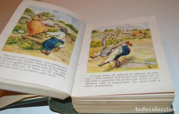 Libros antiguos: RAMON SOPENA - 29 CUENTOS ILUSTRADOS PARA NIÑOS - ENCUADERNADOS EN UN TOMO - IMPECABLES - Foto 13 - 172799969