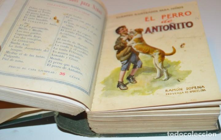 Libros antiguos: RAMON SOPENA - 29 CUENTOS ILUSTRADOS PARA NIÑOS - ENCUADERNADOS EN UN TOMO - IMPECABLES - Foto 14 - 172799969
