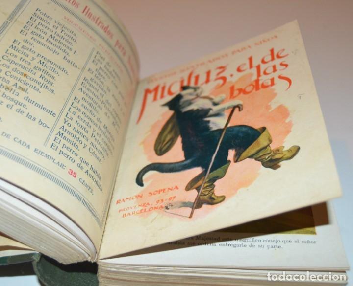 Libros antiguos: RAMON SOPENA - 29 CUENTOS ILUSTRADOS PARA NIÑOS - ENCUADERNADOS EN UN TOMO - IMPECABLES - Foto 15 - 172799969