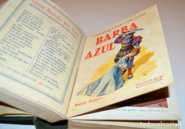 Libros antiguos: RAMON SOPENA - 29 CUENTOS ILUSTRADOS PARA NIÑOS - ENCUADERNADOS EN UN TOMO - IMPECABLES - Foto 17 - 172799969