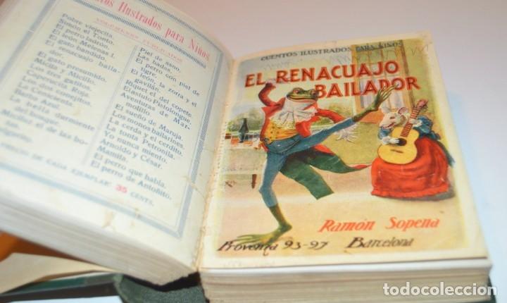 Libros antiguos: RAMON SOPENA - 29 CUENTOS ILUSTRADOS PARA NIÑOS - ENCUADERNADOS EN UN TOMO - IMPECABLES - Foto 19 - 172799969