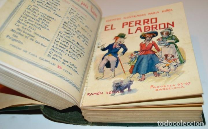 Libros antiguos: RAMON SOPENA - 29 CUENTOS ILUSTRADOS PARA NIÑOS - ENCUADERNADOS EN UN TOMO - IMPECABLES - Foto 23 - 172799969
