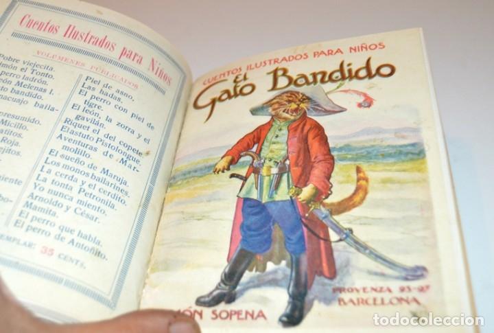 Libros antiguos: RAMON SOPENA - 29 CUENTOS ILUSTRADOS PARA NIÑOS - ENCUADERNADOS EN UN TOMO - IMPECABLES - Foto 25 - 172799969