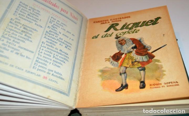 Libros antiguos: RAMON SOPENA - 29 CUENTOS ILUSTRADOS PARA NIÑOS - ENCUADERNADOS EN UN TOMO - IMPECABLES - Foto 26 - 172799969