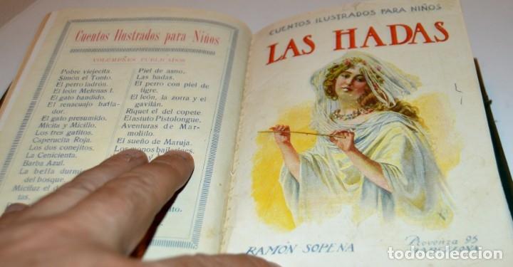 Libros antiguos: RAMON SOPENA - 29 CUENTOS ILUSTRADOS PARA NIÑOS - ENCUADERNADOS EN UN TOMO - IMPECABLES - Foto 28 - 172799969