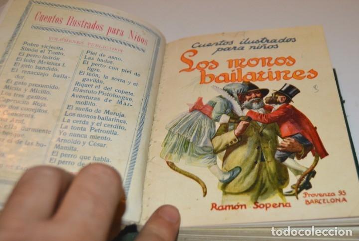 Libros antiguos: RAMON SOPENA - 29 CUENTOS ILUSTRADOS PARA NIÑOS - ENCUADERNADOS EN UN TOMO - IMPECABLES - Foto 29 - 172799969
