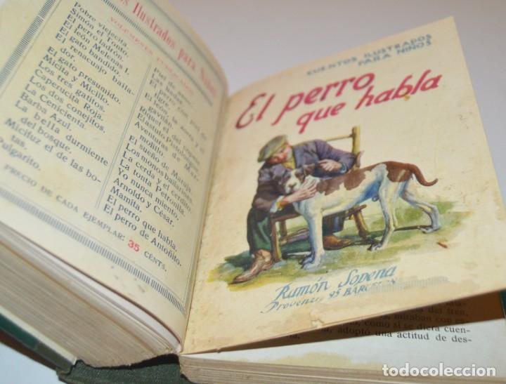 Libros antiguos: RAMON SOPENA - 29 CUENTOS ILUSTRADOS PARA NIÑOS - ENCUADERNADOS EN UN TOMO - IMPECABLES - Foto 32 - 172799969