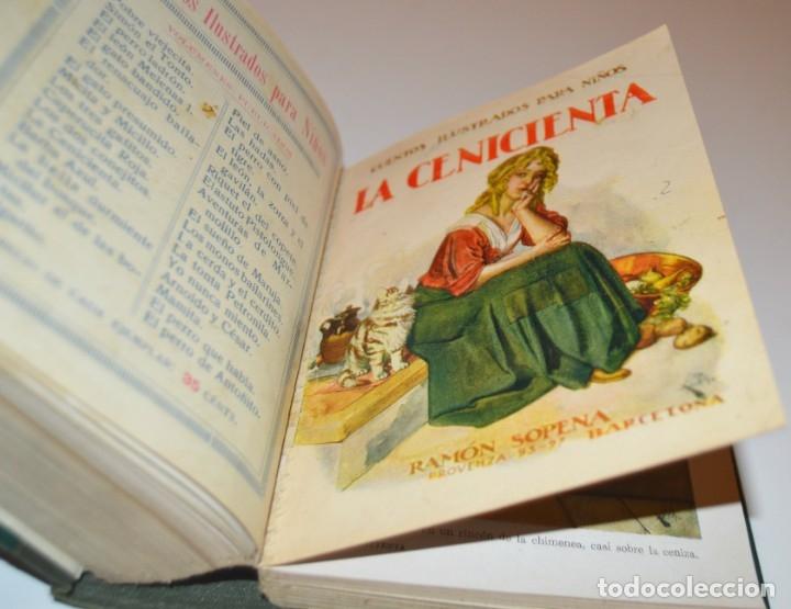 Libros antiguos: RAMON SOPENA - 29 CUENTOS ILUSTRADOS PARA NIÑOS - ENCUADERNADOS EN UN TOMO - IMPECABLES - Foto 33 - 172799969