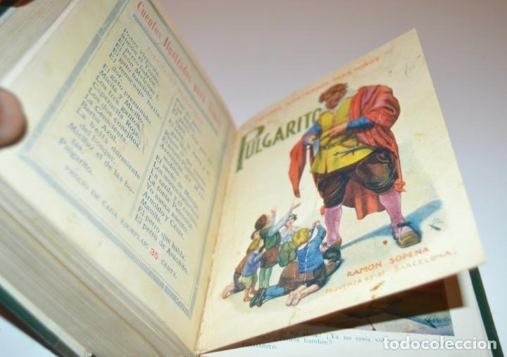 Libros antiguos: RAMON SOPENA - 29 CUENTOS ILUSTRADOS PARA NIÑOS - ENCUADERNADOS EN UN TOMO - IMPECABLES - Foto 35 - 172799969