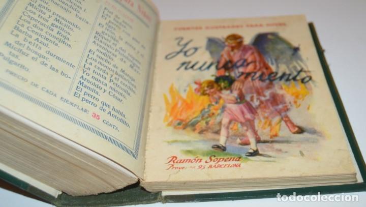 Libros antiguos: RAMON SOPENA - 29 CUENTOS ILUSTRADOS PARA NIÑOS - ENCUADERNADOS EN UN TOMO - IMPECABLES - Foto 37 - 172799969