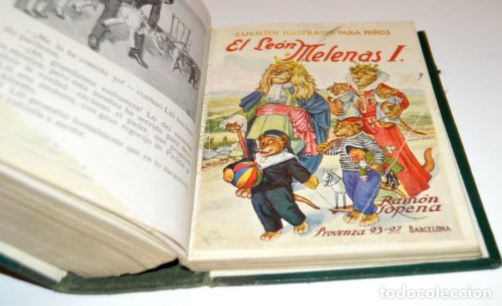 Libros antiguos: RAMON SOPENA - 29 CUENTOS ILUSTRADOS PARA NIÑOS - ENCUADERNADOS EN UN TOMO - IMPECABLES - Foto 38 - 172799969