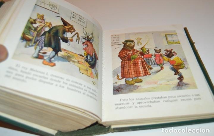 Libros antiguos: RAMON SOPENA - 29 CUENTOS ILUSTRADOS PARA NIÑOS - ENCUADERNADOS EN UN TOMO - IMPECABLES - Foto 39 - 172799969