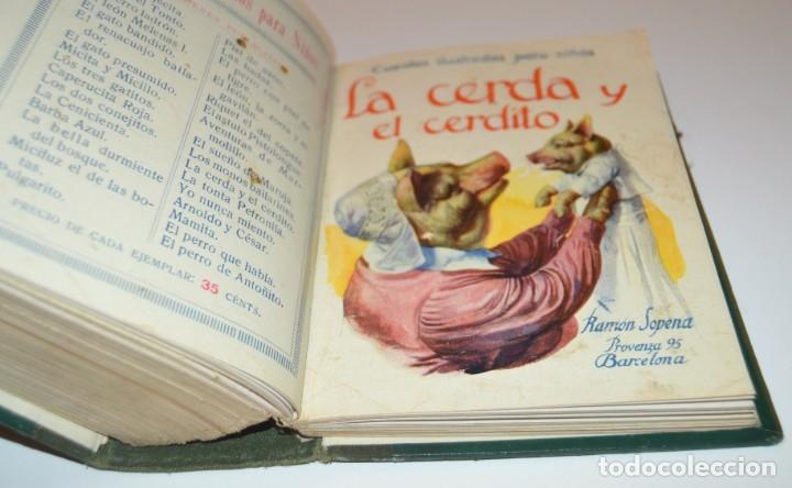 Libros antiguos: RAMON SOPENA - 29 CUENTOS ILUSTRADOS PARA NIÑOS - ENCUADERNADOS EN UN TOMO - IMPECABLES - Foto 40 - 172799969