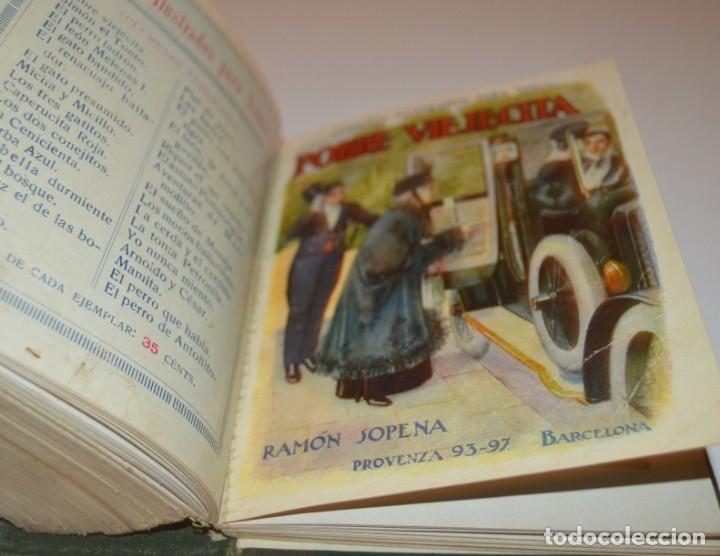 Libros antiguos: RAMON SOPENA - 29 CUENTOS ILUSTRADOS PARA NIÑOS - ENCUADERNADOS EN UN TOMO - IMPECABLES - Foto 41 - 172799969