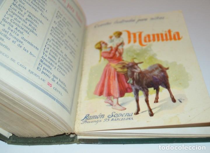 Libros antiguos: RAMON SOPENA - 29 CUENTOS ILUSTRADOS PARA NIÑOS - ENCUADERNADOS EN UN TOMO - IMPECABLES - Foto 42 - 172799969